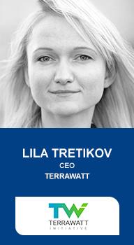 Lila Tretikov, CEO Terrawatt