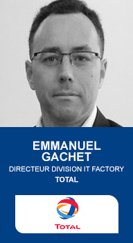 Emmanuel Gachet, Directeur Division IT Factory TOTAL