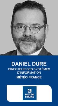 Daniel Dure, Directeur des systèmes d'information, Météo France