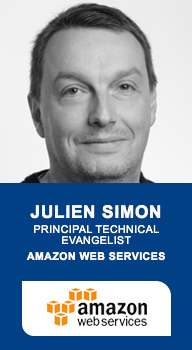 Julien Simon, Principal technical evangelist, Amazon Web Services